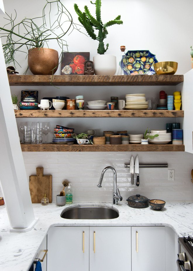 Thiết kế nhà bếp nhỏ gọn chỉ 5m2 đẹp như mơ khiến vạn người mê thumbnail