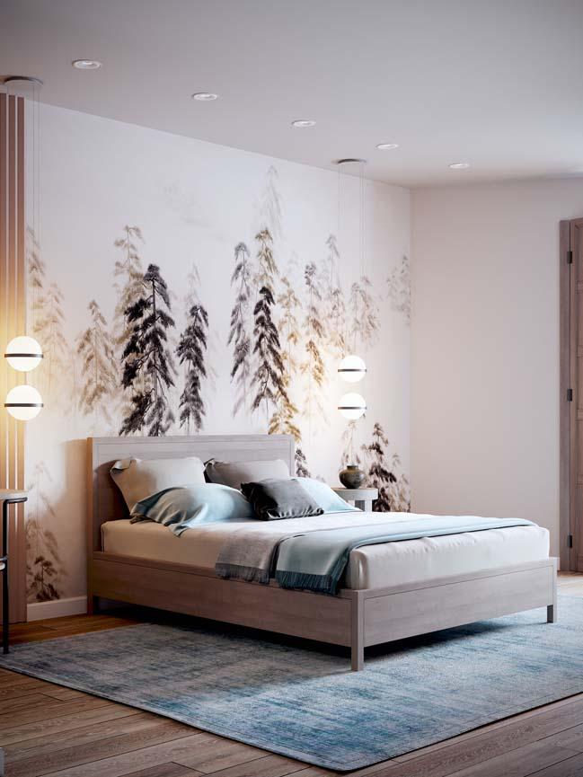 Thiết kế nội thất căn hộ màu sắc trang nhã theo phong cách tân cổ điển-11