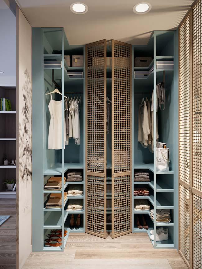 Thiết kế nội thất căn hộ màu sắc trang nhã theo phong cách tân cổ điển-24