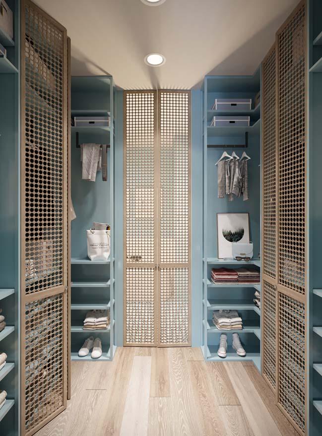 Thiết kế nội thất căn hộ màu sắc trang nhã theo phong cách tân cổ điển-25