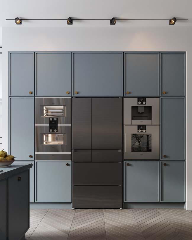 Thiết kế nội thất căn hộ màu sắc trang nhã theo phong cách tân cổ điển-7