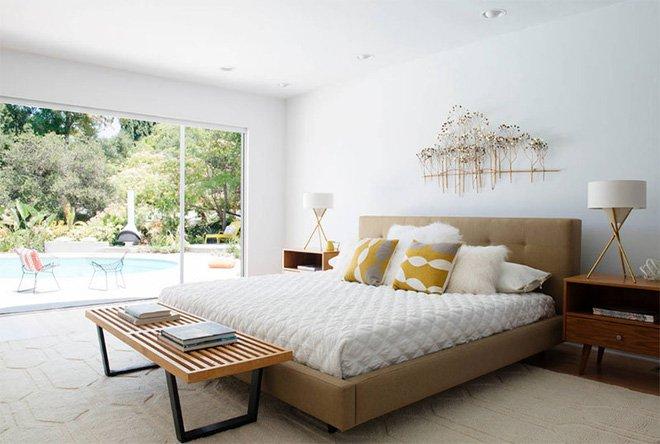 Thiết kế phòng ngủ đẹp ấm áp đón đông về theo phong cách phương Tây