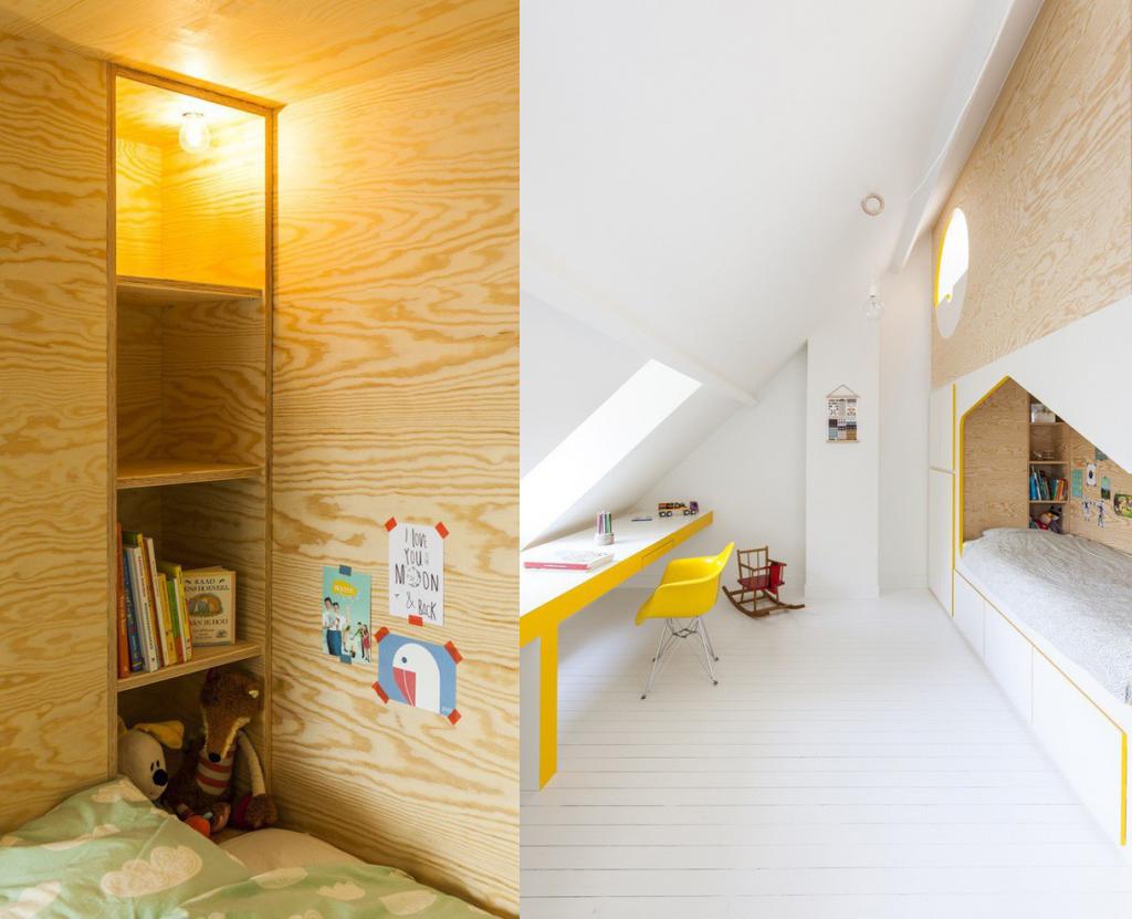 Thiết kế phòng ngủ trẻ em NHỎ NHƯNG CÓ VÕ tạo không gian chơi an toàn