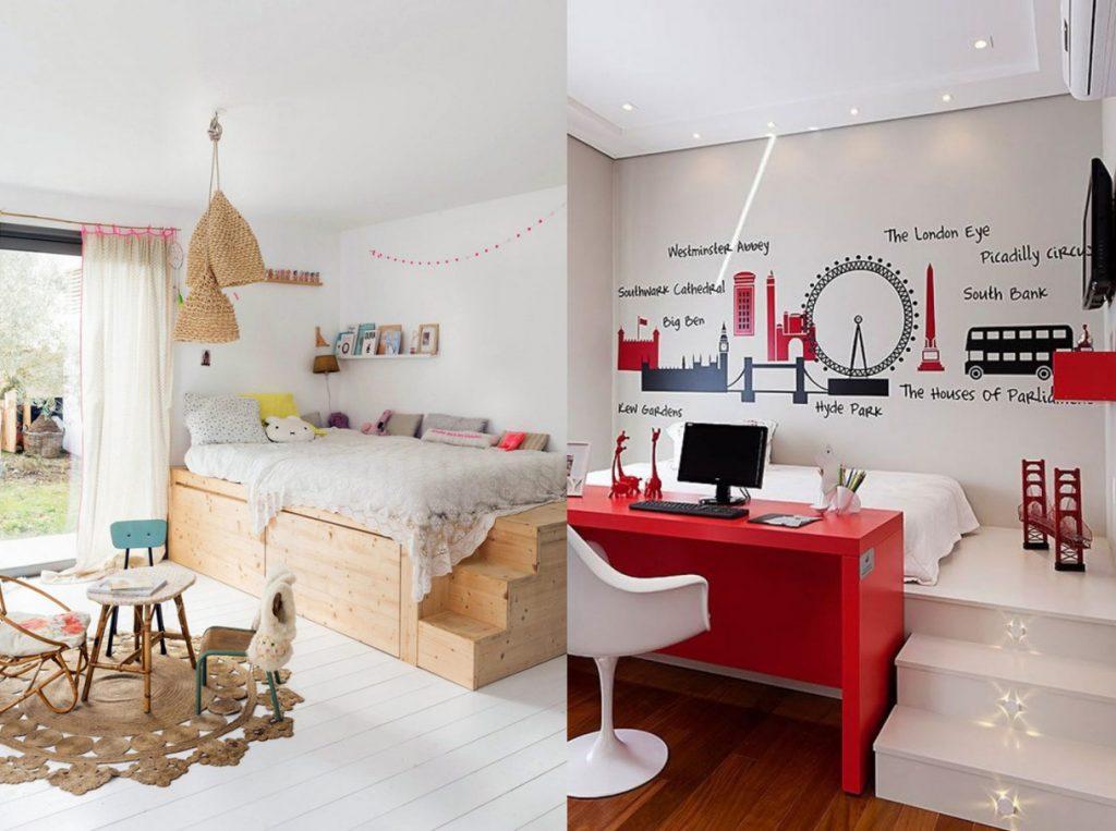 """Ý tưởng mới thiết kế nội thất phòng ngủ nhỏ sáng tạo """"cực chất"""" thumbnail"""