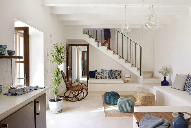 10 ý tưởng thiết kế phòng khách nhỏ hiện đại theo không gian mở-4