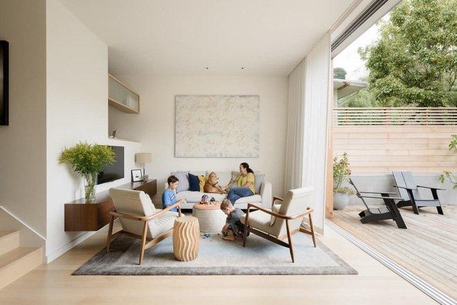 10 ý tưởng thiết kế phòng khách nhỏ hiện đại theo không gian mở