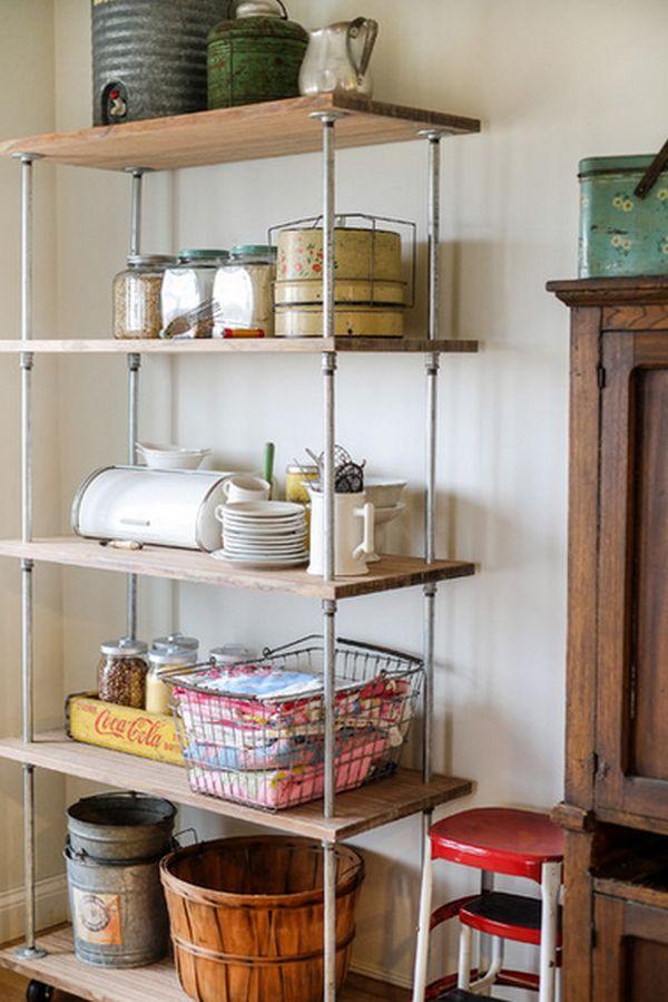Cách tân trang nhà bếp 1:Dọn bớt đồ đạc