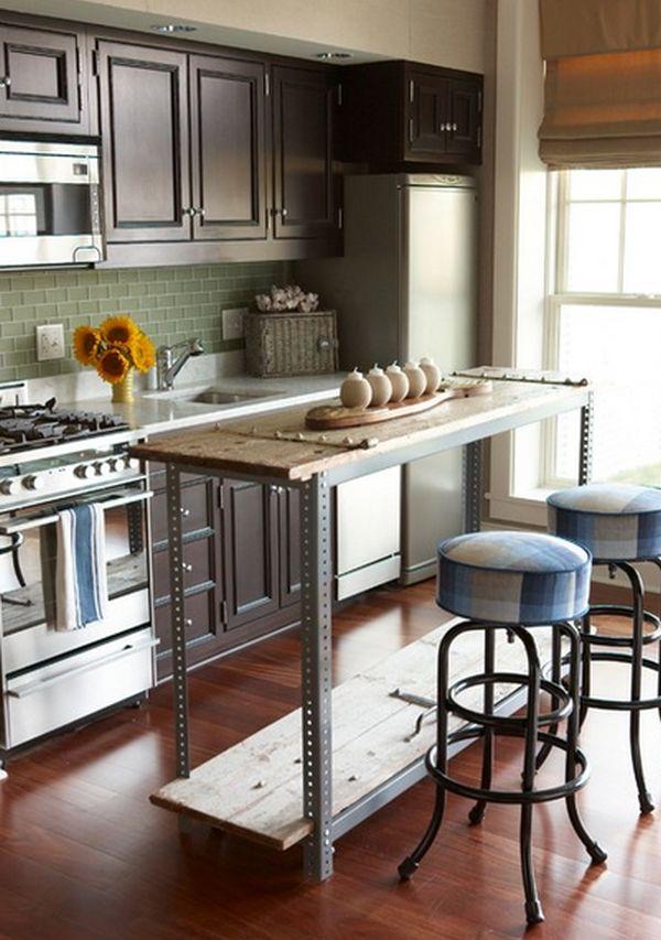 """Cách tân trang nhà bếp 11:Làm """"đảo bếp"""" di động"""