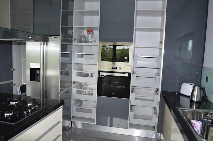 Thiết kế tủ bếp thông minh cho không gian bếp hiện đại năm 2018