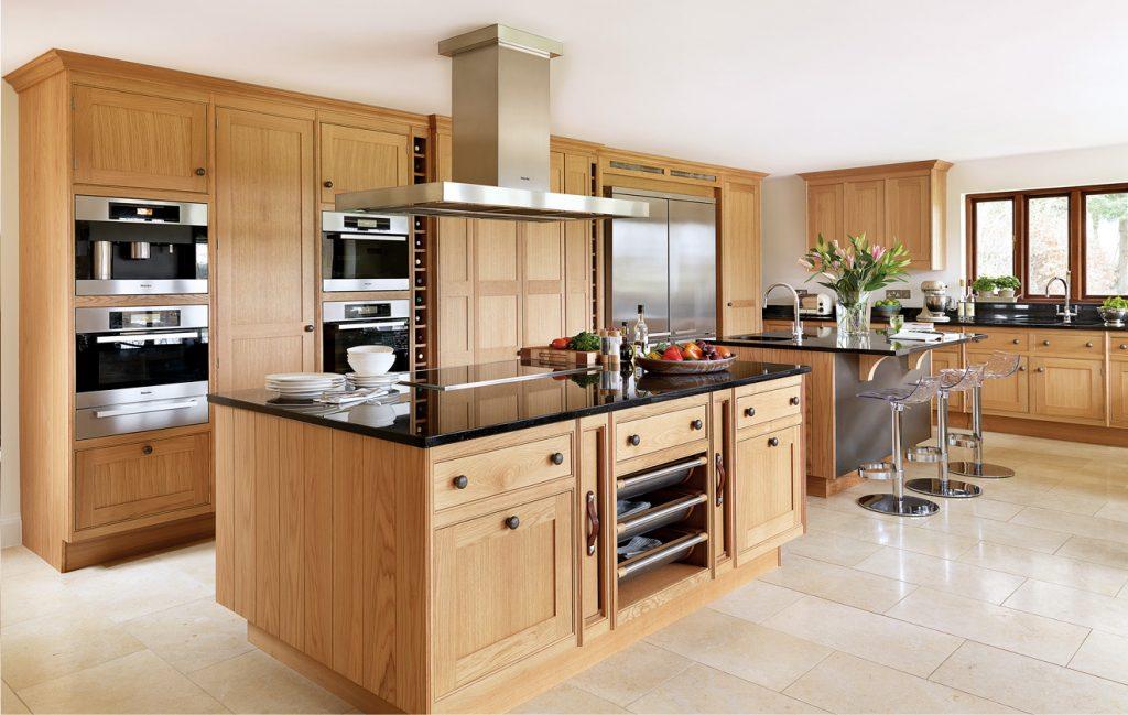 Tủ bếp hiện đại thông minh
