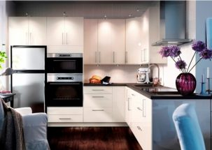 Làm sao để thiết kế nhà bếp đơn giản cho không gian hẹp?