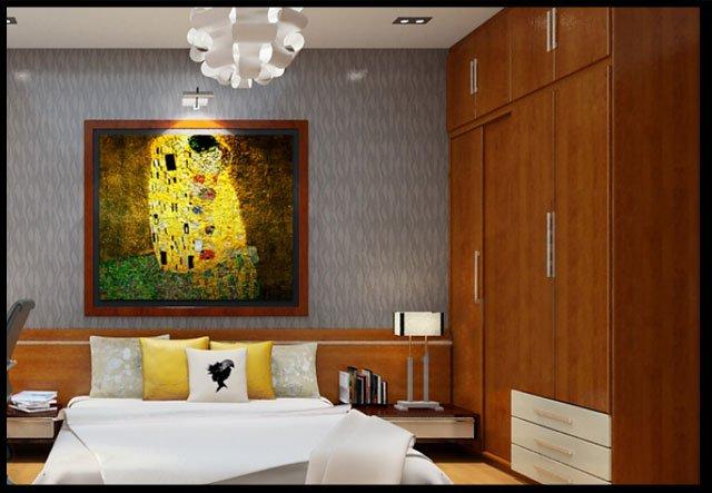 Bản vẽ thiết kế và nội thất nhà ống 3 tầng đẹp hiện đại diện tích nhỏ-10