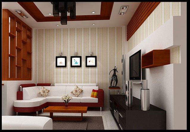 Bản vẽ thiết kế và nội thất nhà ống 3 tầng đẹp hiện đại diện tích nhỏ-8