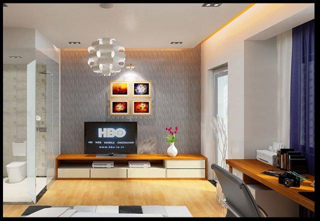 Bản vẽ thiết kế và nội thất nhà ống 3 tầng đẹp hiện đại diện tích nhỏ-9