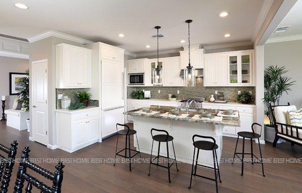 40 Kiểu Thiết Kế Nhà Bếp đẹp Hiện đại Với Tủ Bếp đơn Giản