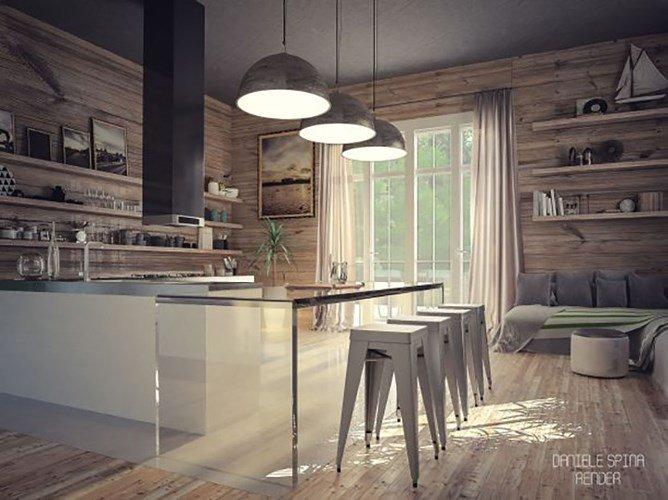 Đón đầu ý tưởng thiết kế nhà bếp hiện đại mới nhất năm 2018