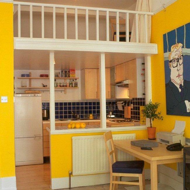 Tận dụng tối đa các mẹo thông minh đặc biệt là các phòng bếp nhỏ