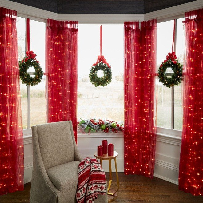 Hàng loạt ý tưởng sáng tạo cho không khí Giáng Sinh tràn ngập ngôi nhà