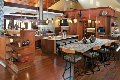 mẫu bếp đẹp hiện đại 12