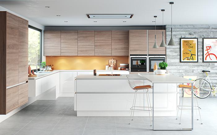mẫu nhà bếp đẹp hiện đại