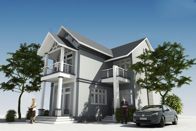 Mẫu thiết kế biệt thự 2 tầng đẹp lung linh theo phong cách hiện đại-4