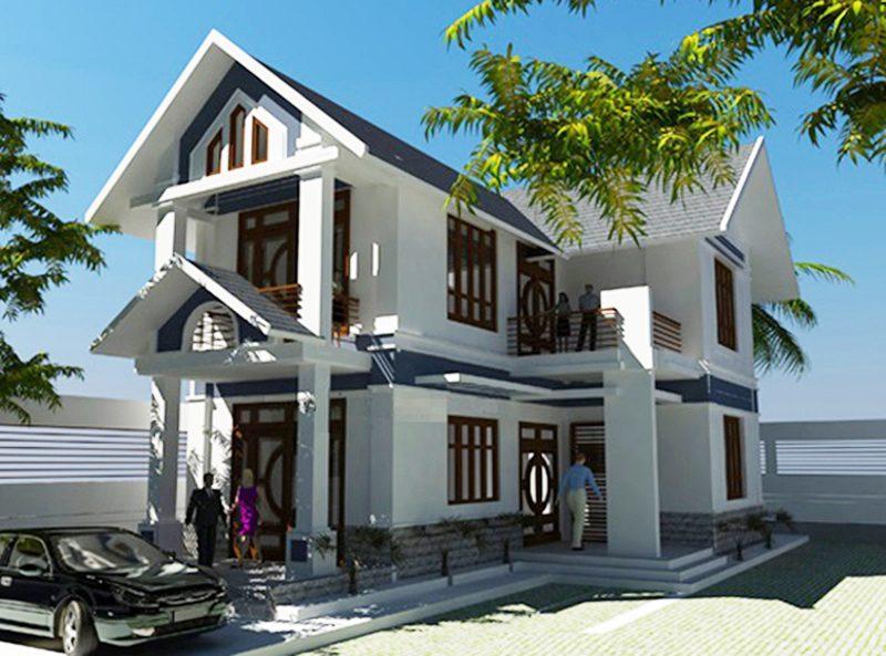 Mẫu thiết kế biệt thự 2 tầng đẹp lung linh theo phong cách hiện đại-5