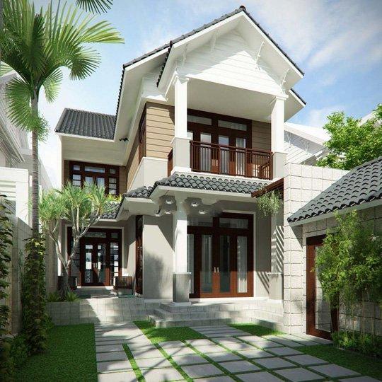 Mẫu thiết kế biệt thự 2 tầng đẹp lung linh theo phong cách hiện đại-6