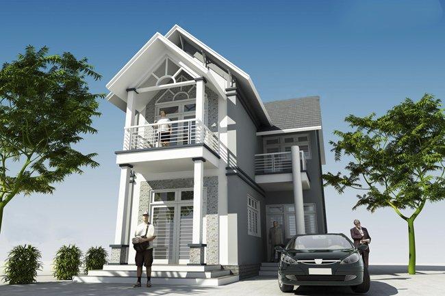 Mẫu thiết kế biệt thự 2 tầng đẹp lung linh theo phong cách hiện đại-8