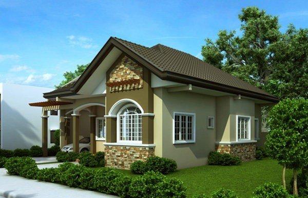 Mẫu thiết kế nhà 1 tầng có 3 phòng ngủ cho nhà mới năm 2018 post image