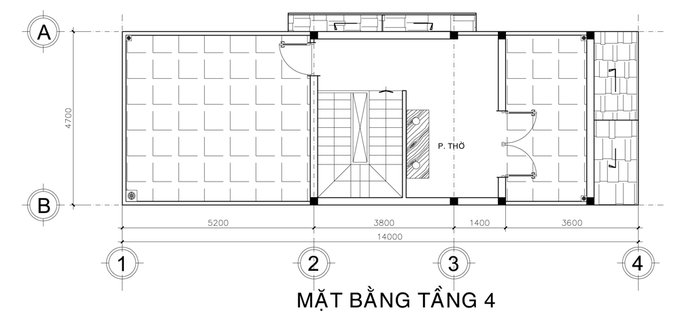 Mẫu thiết kế nội thất nhà ống 3 tầng 1 tum 2 mặt tiền giá 1.3 tỷ siêu đẹp