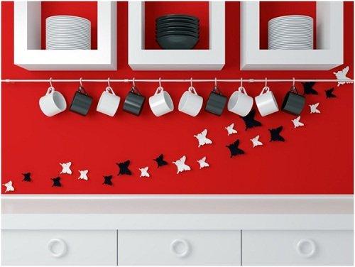 Mẹo hay biến không gian tường bếp thành nơi lưu trữ thông minh