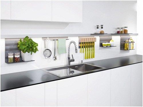 Mẹo hay biến không gian tường bếp thành nơi lưu trữ thông minh thumbnail