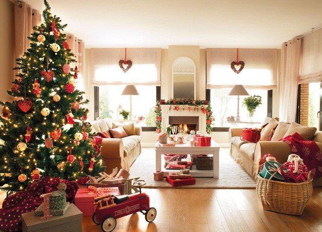 Những kiểu trang trí phòng khách đón Giáng Sinh không lỗi MỐT post image