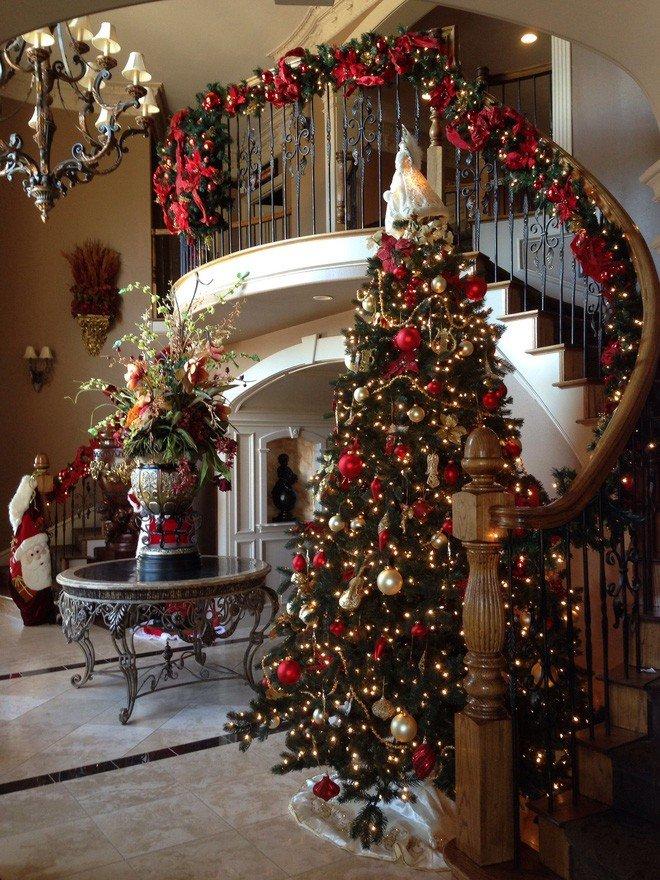 Những kiểu trang trí phòng khách đón Giáng Sinh không lỗi MỐT