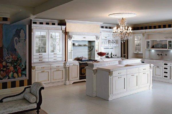 Những mẫu thiết kế phòng bếp tân cổ điển siêu HOT năm 2018