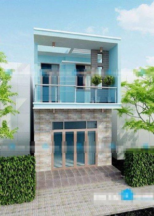 Thiết kế nhà phố đẹp 2 tầng cực hot không thể bỏ qua