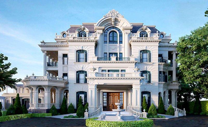 Thiết kế nội thất biệt thự cổ điển kiểu Pháp 3 tầng đẹp mãn nhãn post image