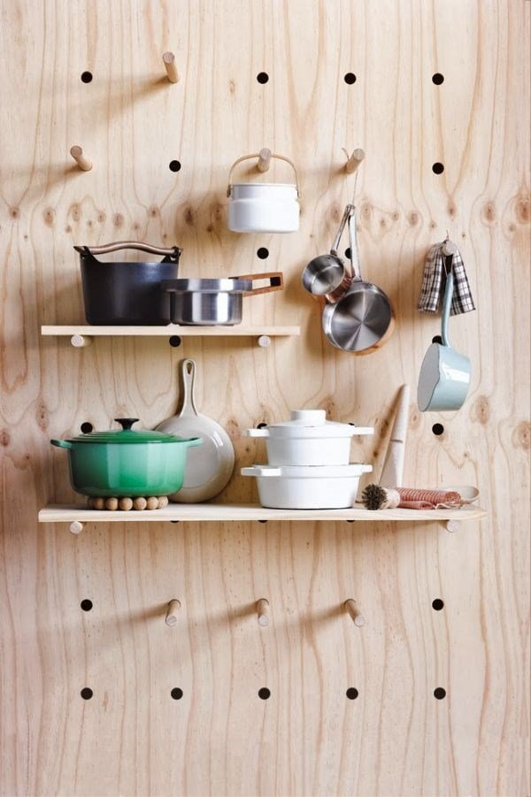 Thiết kế nội thất tủ bếp lưu trữ thông minh giúp tiết kiệm diện tích