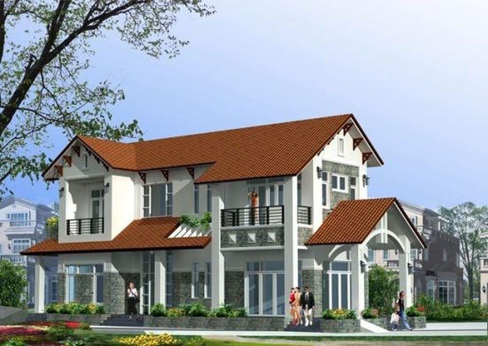 Top 10 mẫu thiết kế biệt thự nhà vườn 2 tầng hiện đại đẹp hút mắt-03