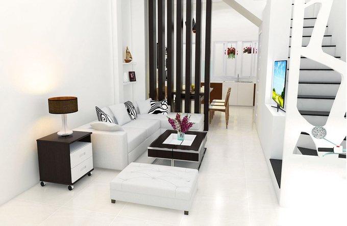 Xu hướng thiết kế nội thất nhà ống 4 tầng 48m2 đẹp mê ly dưới 1 tỷ-5