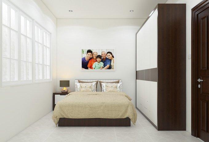 Xu hướng thiết kế nội thất nhà ống 4 tầng 48m2 đẹp mê ly dưới 1 tỷ-7