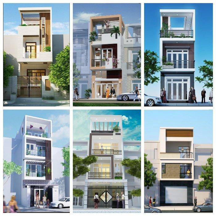 Hơn 60 mẫu thiết kế nhà ngang 6m dài 10m dành cho năm 2018