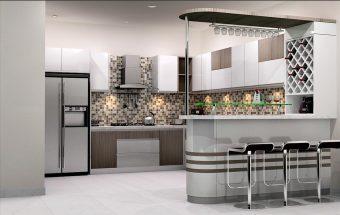 8 Cách trang trí cho không gian bếp đẹp hiện đại