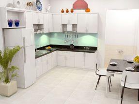 Phòng bếp đẹp cho nhà ống 2019 không thể bỏ qua