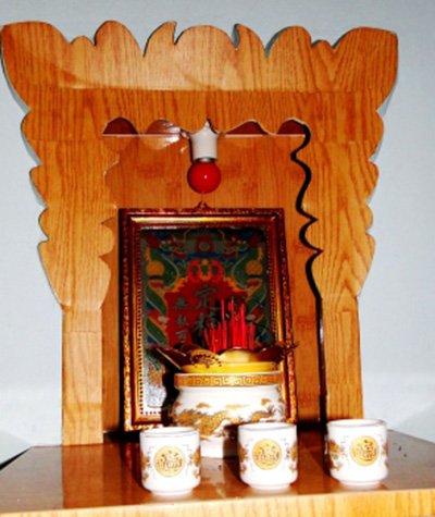 Hình ảnh bàn thờ ông Táo