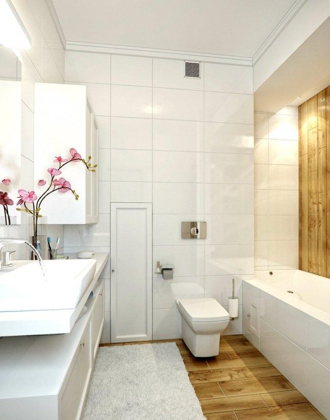 Mách bạn 10 cách thiết kế nội thất phòng tắm nhỏ trở nên rộng bất ngờ