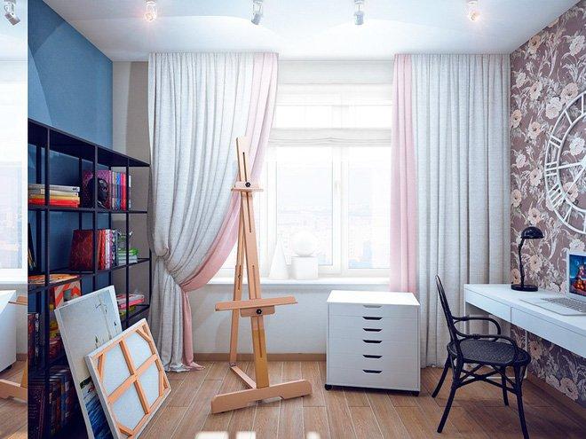 Ngẩn ngơ nội thất căn hộ 100m2 sang trọng với thiết kế thông minh
