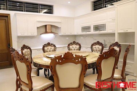 Thi công thiết bị công trình tủ bếp nhà anh Phong – Quảng Ninh thumbnail