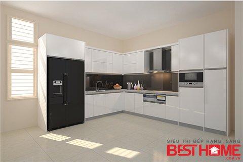 Bảo trì kiểm tra hiện trạng công trình tủ bếp nhà chị Huệ – Phú Thọ thumbnail