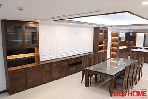Thi công thiết bị công trình tủ bếp nhà chị Nga – Bùi Thị Xuân thumbnail
